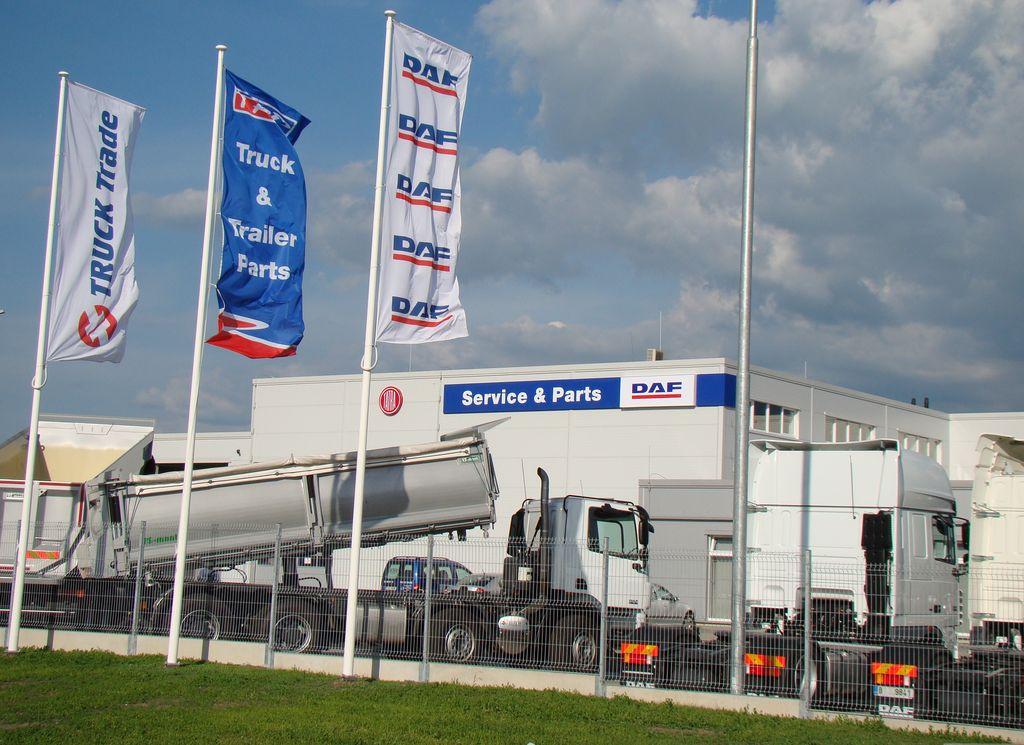 Nové truck centrum společnosti TRUCK TRADE spol. s r. o. v Paskově se stalo jedním z nejmodernějších v ČR.